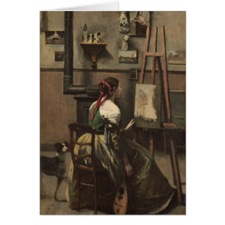 The Artist's Studio Card