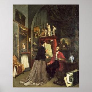 The Artist's Studio Poster