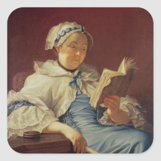The artist's wife, 1758 (oil on canvas) sticker