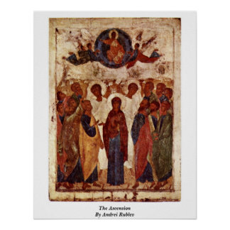 The Ascension By Andrei Rublev Poster