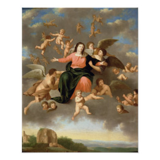 The Ascension of the Virgin Poster