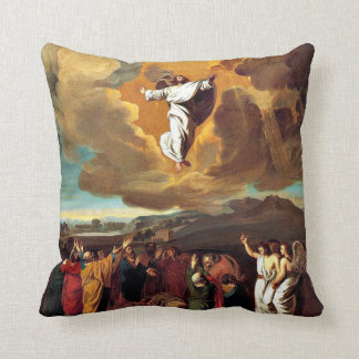 The Ascension - Painting by John Singleton Copley Cushion