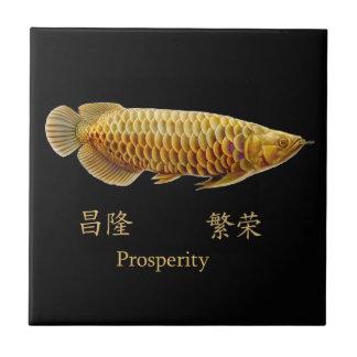 The Asian Arowana Prosperity Tile