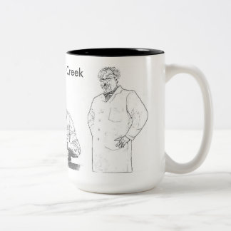 The Ask Stoney Creek Show Two-Tone Coffee Mug