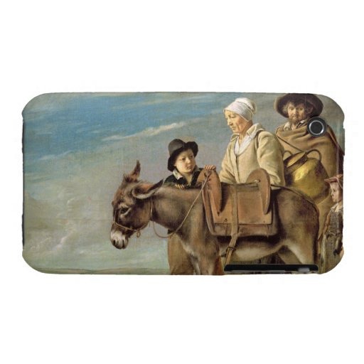The Ass (oil on canvas) iPhone 3 Case