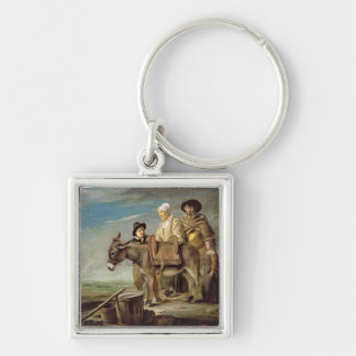 The Ass oil on canvas Key Chain