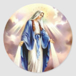 The Assumption of Mary Stickers