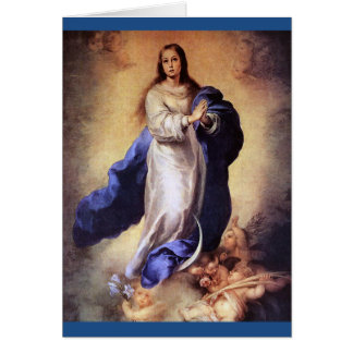 THE ASSUMPTION OF THE BLESSED VIRGIN MARY CARD