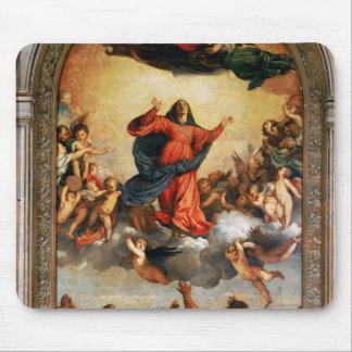 The Assumption of the Virgin, 1516-18 Mouse Pad