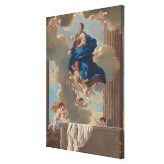 The Assumption of the Virgin Canvas Print