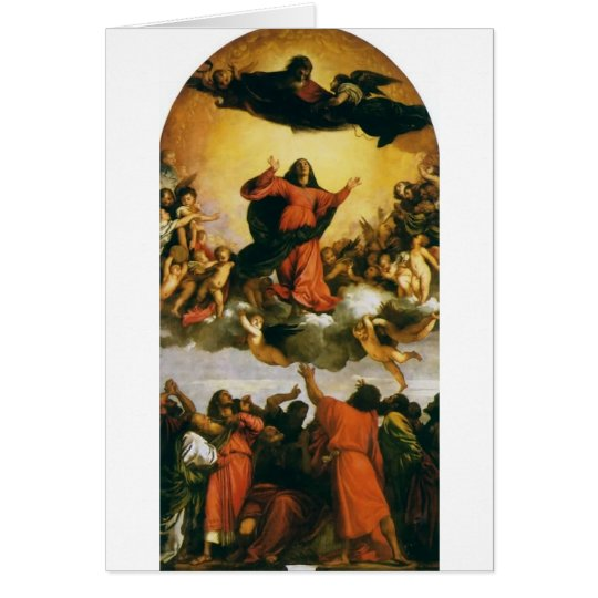 The Assumption of the Virgin Mary - Companion Card