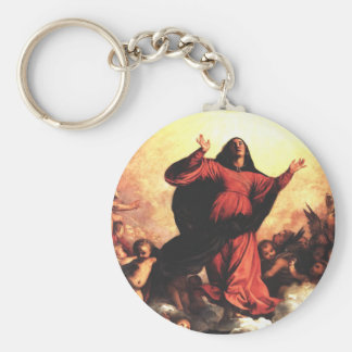 The Assumption the Virgin Keychains
