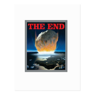 the asteroid end postcard