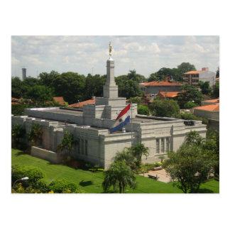 The Asunción Paraguay LDS Temple Postcard