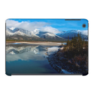 The Athabasca River in Jasper National Park iPad Mini Covers