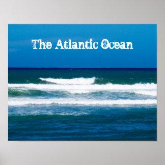 The Atlantic Ocean Poster