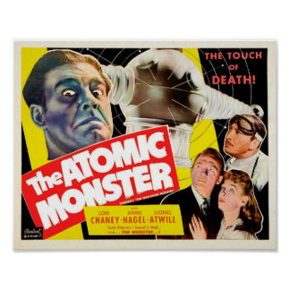The Atomic Monster Poster
