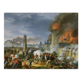 The Attack and Taking of Ratisbon Postcard