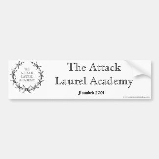 The Attack Laurel Academy Bumper Sticker