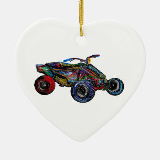 THE ATV EDGE CERAMIC ORNAMENT