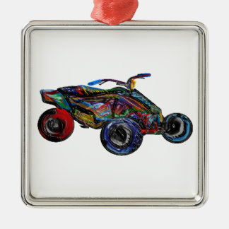 THE ATV EDGE METAL ORNAMENT