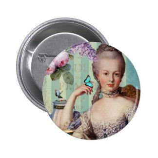 Thé au Petit Trianon 6 Cm Round Badge
