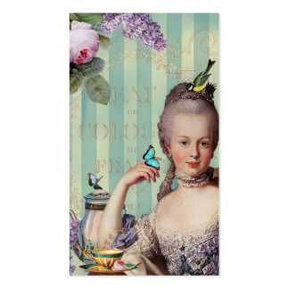 Thé au Petit Trianon calling card Pack Of Standard Business Cards