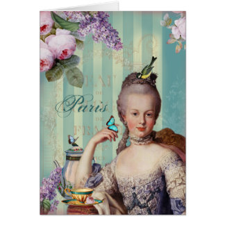Thé au Petit Trianon - Thank you Card