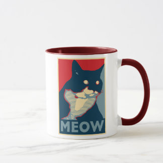 The Audacity of Meow Mug