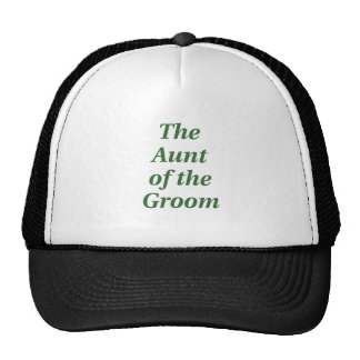 The Aunt of the Groom Cap