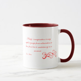 The Austen Collection - A Lady's Imagination Mug