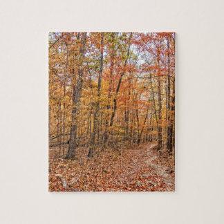 The Autumn Trail Jigsaw Puzzle