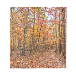 The Autumn Trail Notepad