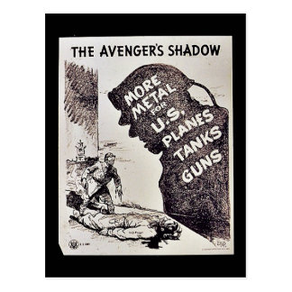 The Avenger's Shadow Post Cards