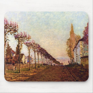 The Avenue by Alfred Sisley Mouse Pads