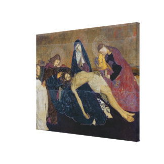 The Avignon Pieta, 1450-60 Canvas Print