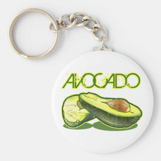 The Avocado Key Ring