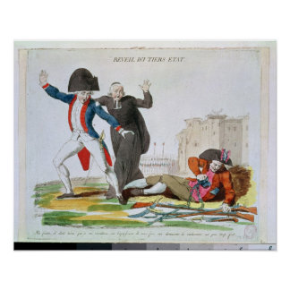 The Awakening of the Third Estate, July 1789 Poster