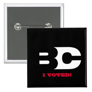 THE B-CAST 'I VOTED' BUTTON
