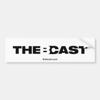 The B-Cast Logo Bumper Sticker