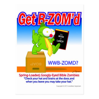 The B-ZOM Postcard