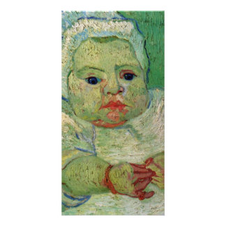The Baby Marcelle Roulin by Vincent van Gogh Photo Card Template