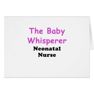 The Baby Whisperer Neonatal Nurse Card