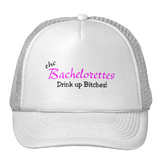 The Bachelorettes (Drink up Pink) Hats