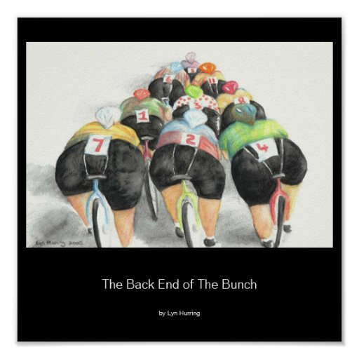 The Back End of the Bunch, with artist name Poster