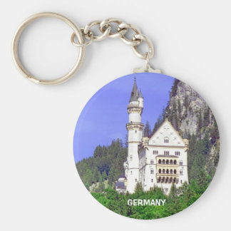 THE BACK SIDE OF NEUSCHWANSTEIN CASTLE KEY RING