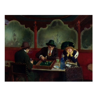 The Backgammon Players Postcard