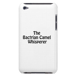 the bactrian camel whisperer iPod touch cases