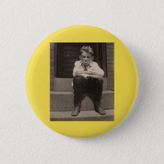 the bad attitude 6 cm round badge