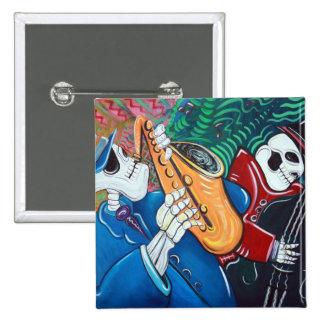 The Bad Blues Bone Band Pins